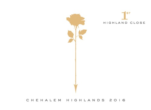 2016 Highland Close –  Chehalem Highlands