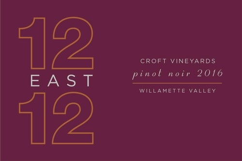 12 East 12 Croft Vineyard 2016