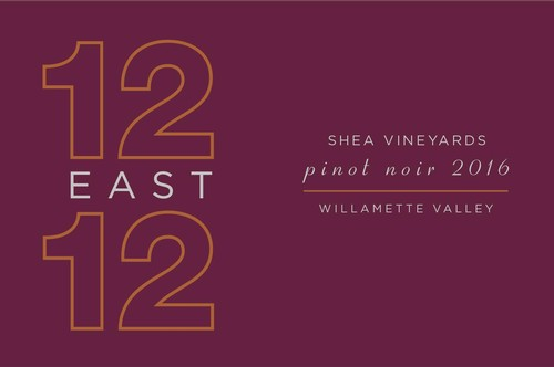 12 East 12 Shea Vineyard 2016